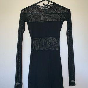 Black Mini Dress from Dolls Kill